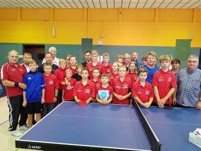 Vorschaubild zur Meldung: Tischtennis-Nachwuchs weiterhin Erfolgreich