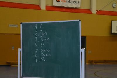 Foto zur Meldung: Lehrprobenabnahme Übungsleiter Grundlagenlehrgang