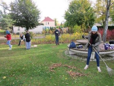 Foto zu Meldung: Aktion Herbstputz