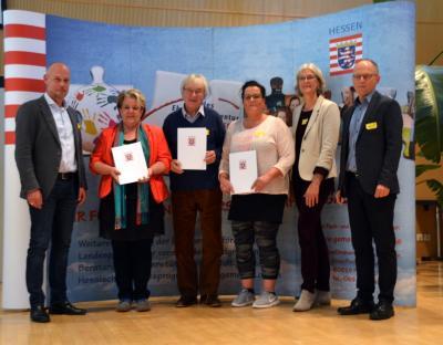 Foto zu Meldung: Qualifizierung Hessisches Engagement-Lotsen-Programm 2017 erfolgreich absolviert.