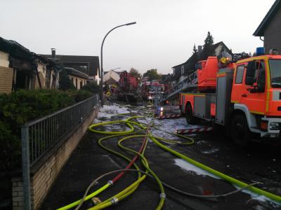 Foto zu Meldung: Aufwändiger Brandeinsatz in Höhenhaus