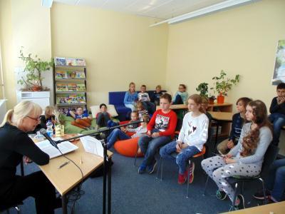 Foto zur Meldung: Lesenachmittag Thema Schorfheide