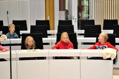 Vorschaubild zur Meldung: Das Kinderparlament im Landtag Schwerin