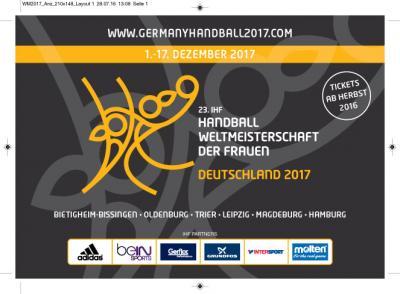Vorschaubild zur Meldung: Frauen-Forum im Rahmen der Frauen-WM in Leipzig