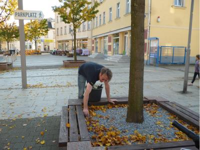 Foto zur Meldung: Herbstputz