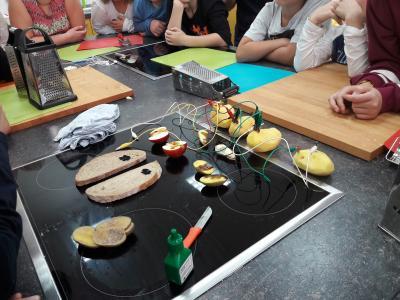 """Foto zur Meldung: Kartoffelexperimente  - Unterrichtsprojekt """"Kartoffel"""""""