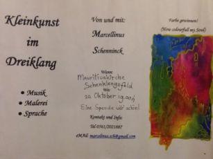 Vorschaubild zur Meldung: Kleinkunst im Dreiklang in der  Mauritiuskirche