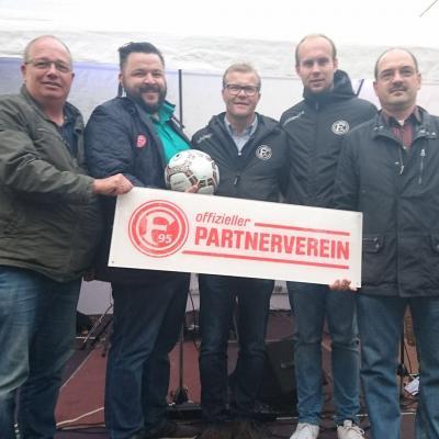 Foto zur Meldung: Kooperation mit Fortuna 95 NLZ