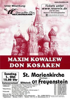 Foto zur Meldung: Konzert in der St.Marienkirche