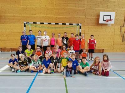 Foto zur Meldung: Handball: 5. Handballtag