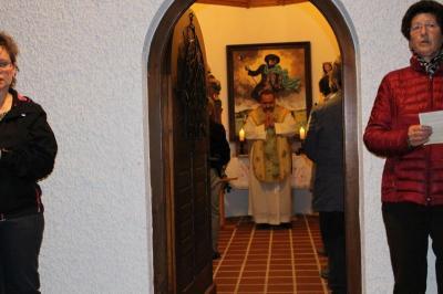 Foto zur Meldung: Der 35. Jahrestag der Kapellenweihe zum Hl. Wendelin wurde festlich begangen