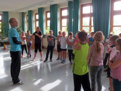 Foto zur Meldung: Zur Woche der Gesundheit und Nachhaltigkeit in der Grundschule
