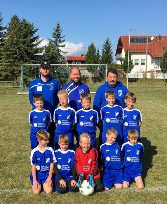 Foto zur Meldung: F-Junioren: Spitzenreiter!!!