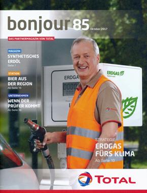"Titelseite Magazin ""bonjour"" Nr. 85 vom Oktober 2017"