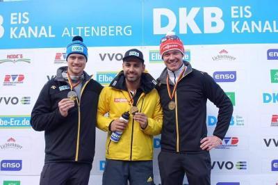 Foto zur Meldung: Deutsche Meisterschaften Rennrodeln