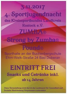 Foto zur Meldung: 4. Sportjugendnacht in Bad Doberan