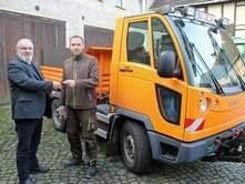 """Vorschaubild zur Meldung: Bauhof bekommt neues """"Auto für alles"""""""