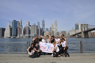 Foto zur Meldung: Turnerweiber erobern New York