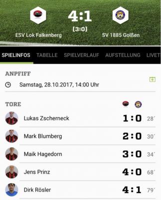 Foto zur Meldung: +++Fußball: Heimdreier gegen Golßen+++