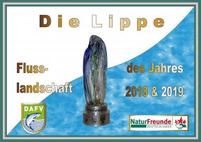 Foto zu Meldung: Die Lippe in NRW wird Flusslandschaft 2018 & 2019