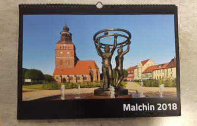 So sieht es aus das Titelbild des neuen Malchin-Kalenders.
