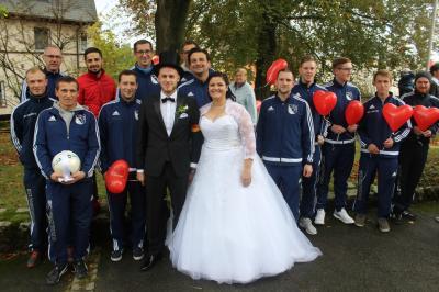Foto zu Meldung: Ralf und Janina haben geheiratet
