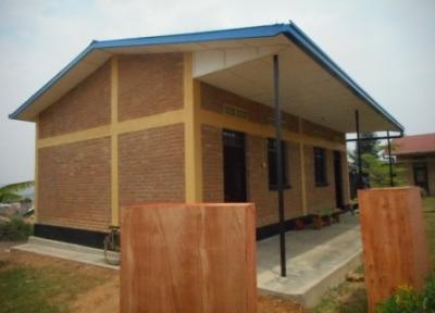 Der neue Informatikraum in Kirinda