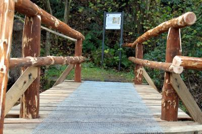 Vorschaubild zur Meldung: Sanierung des Kulturpfad- Steges ist abgeschlossen.