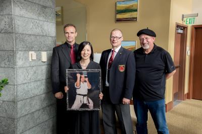 Foto zur Meldung: Gedenkfeier für unseren Meister