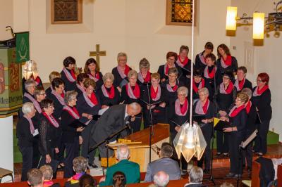 Foto zur Meldung: Teilnahme am   Herbstkonzert des  MGV Liederkranz in Friedlos