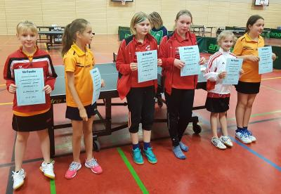 Vorschaubild zur Meldung: Tischtennis-Nachwuchs mit tollen Platzierungen