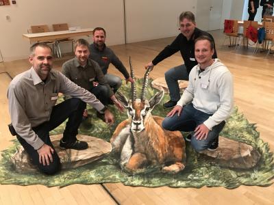 Vorschaubild zur Meldung: Wir packen den Bock bei den Hörnern!