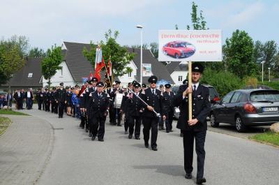 Foto zur Meldung: 150 Jahre Feuerwehr Ostseebad Nienhagen