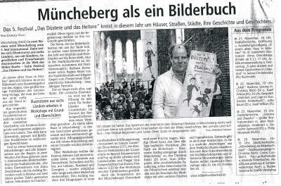 Foto zur Meldung: Müncheberg als ein Bilderbuch