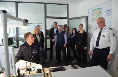 Vorschaubild zur Meldung: Kreispräventionsrats OSL kamen in der Polizeiinspektion in Senftenberg zusammen