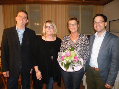 Vorschaubild zur Meldung: Verabschiedung von Frau Maria Auth bei der Gemeinde Flieden