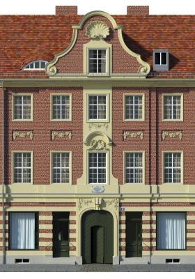 Foto zu Meldung: Die Gontard-Häuser am Bassin 3 und 10: Engagierte Denkmalpflege in Potsdam