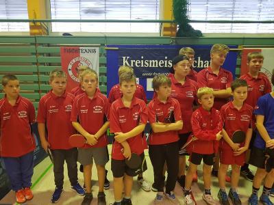 Vorschaubild zur Meldung: Tischtennis-Nachwuchsmannschaften drücken dem Punktspielgeschehen weiter ihren Stempel auf