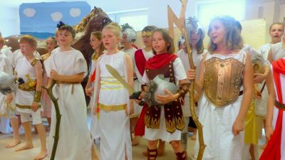 Vorschaubild zur Meldung: Die Legende vom Trojanischen Krieg- ein Theaterprojekt vom 3.-15.7.2017