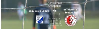 Vorschaubild zur Meldung: Viertelfinale im Kreispokal kann kommen