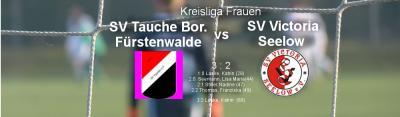 Vorschaubild zur Meldung: 8. Spieltag Kreisliga Frauen