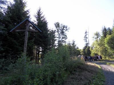 Foto zur Meldung: Waldandacht des Frauentreffs