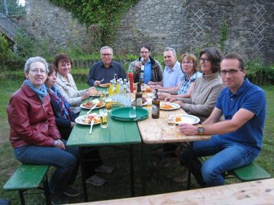 Foto zur Meldung: Pfarrgemeinderat wird Pfarrer Ignacy Kobus würdig verabschieden