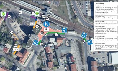 Die neuen Regelungen im Umfeld des Bahnhofs