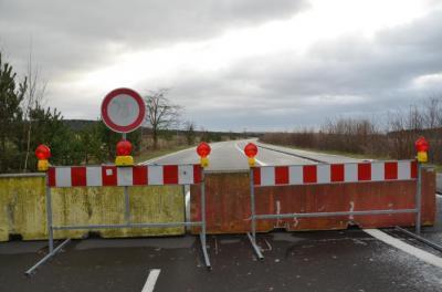 Vorschaubild zur Meldung: Zufahrtsstraße zum Lausitzring gesperrt
