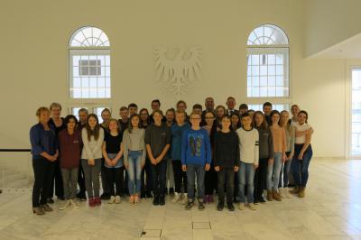 1. Preisträger 2016: Klasse 7/3 des Goethe-Gymnasiums Nauen (HVL)