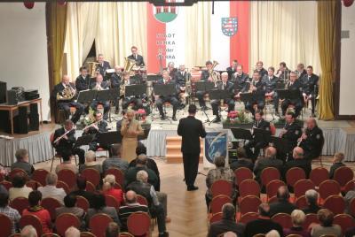 Polizeimusikkoprps 2015 in Berka/Werra