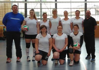 Foto zu Meldung: Zweiter Turniertag der Damen in der Landesklasse-Ost