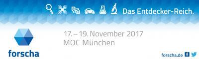 Vorschaubild zur Meldung: MINT- Dachau ist ab morgen auf der FORSCHA 2017 im MOC an zu treffen!