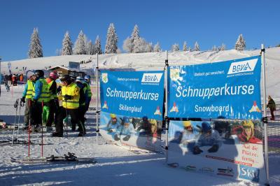 Ein traumhafter Wintertag auf dem Feldberg - Der BGV unterstützt den Skiverband Schwarzwald im Breiten- und Leistungssport - Foto: Joachim Hahne